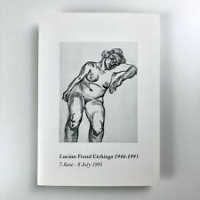 More details for lucian freud etchings 1946-1995 marlborough graphics private view + ephemera