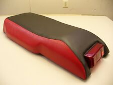76-77  YAMAHA BLK/RED SRX RACING SNOWMOBILE SEAT COVER!