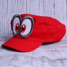 SUPER Mario Odyssey Hat Cap Kappe Nintendo Switch Giocattoli Bambini Regali Rosso Bros.