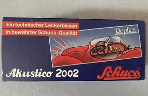 Schuco Akustico  2002 Replica in OVP neuwertig unbespielt