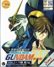 MOBILE SUIT GUNDAM WING - COMPLETE TV SERIES DVD (1-49 EPS + MOVIE) (ENG DUB)