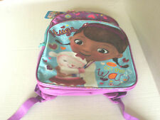 Disney~DOC McSTUFFINS~Hugs On On the Way~Full Size BACKPACK~NWT