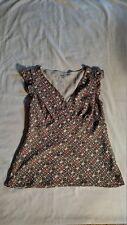 ANN TAYLOR LOFT WOMEN'S CAP SLEEVE CASUAL DRESS WEAR TOP - SIZE 10