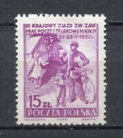 35604) POLAND 1949 MNH** Nuovi** Mail delivery 1v Scott# 468
