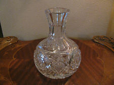 ABP Cut Glass Water or Wine Carafe Signed Libbey SALE!!