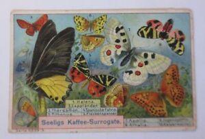 Kaufmannsbilder, Seeligs feinste Kaffee-Essenz, Schmetterlinge ♥ (50810)