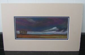 Pastel Drawing Storm Brewing by Clark Gibson - Art Work