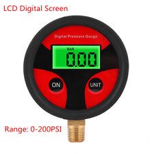 0-200PSI LCD Digital Tyre Tire Pressure Gauge for Car Truck Motorcycle GBD