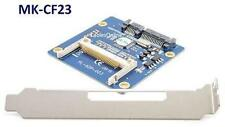 SATA to CompactFlash/SSD Adapter w/ Expansion Bracket Plate - MK-CF23