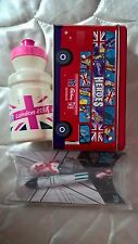 London 2012 Olympic Games Team GB Cadbury Tin Pen Keyring set water bottle