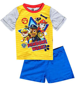 Paw Patrol Short Pyjamas. 18-24 Months and 2-3 Years