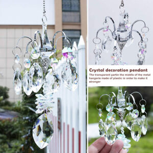 Horse Eye Crystal Prism Sun Catcher Window Hanging Ornaments Rainbow Maker Decor