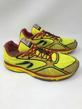 Newton Gravity III 3.0 Mens Running Shoes Size 11.5 Yellow Red Black Training