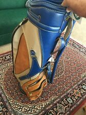 "Rare vintage Wilson Staff Professional 8"" Golf Bag Great Colors Has Damage Read"