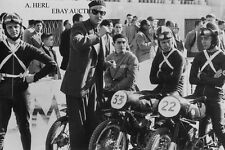 Senor Bulto  Bultaco Racing team  125 international Jerez 1954 racing photo