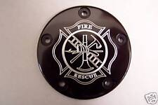 Custom points cover Fits Harley Davidson Fire Fighter 5 Hole