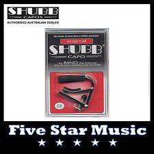 NEW Shubb C5 Original Capo for BANJO - Nickel - NEW C-5
