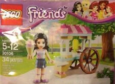 Lego Friends 30106 Ice Cream Stand / minifigure New in Sealed bag FREE SHIPPING