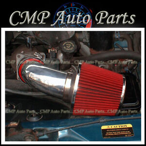 RED 1996-2005 CHEVY ASTRO VAN GMC SAFARI 4.3 4.3L V6 AIR INTAKE KIT SYSTEMS
