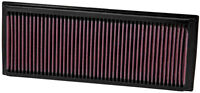 K&N Air Filter Element 33-2865 (Performance Replacement Panel Air Filter)