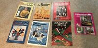 Vintage Lot of 7 Sewing Magazines  FREE SHIP craft sewing
