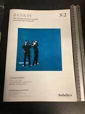 More details for banksy the unauthorised retrospective selling exhibition 2014 original catalogue