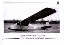 Czech Master Resin 1/72 Slingsby Kirby Cadet I # 72G5021