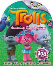 Trolls Activity Book: TROLLS STICKER & ACTIVITY BOOK, TROLLS ACTIVITY FUN  - NEW