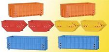 Kibri Container Assortment - Kit - HO Gauge - 38648