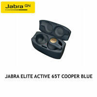 Jabra Elite Active 65t Copper Blue Wireless R Earbuds w/ Portable Charging Case