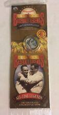 Baseball Legends 24 KT Gold Plated Quarter  Lou Gehrig & Babe Ruth
