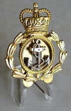 U.K - Great Britain - British - Royal Navy Chief Petty Officer's Cap Badge