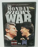 MONDAY NIGHT WAR - RAW IS WAR VS. WCW MONDAY NITRO DVD, WWE, WCW NWO, HULK, HART