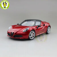 1/18 ALFA ROMEO 4C SPIDER Autoart 70142 Diecast Model Toys Car Gifts Red