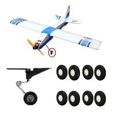 8PCS 45mm RC Plane Airplane part Super light landing gear sponge wheel Durable