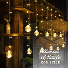 8-120m da giardino LED FESTONE Stringa LuciFesta LAMPADINA GLOBO A CASA
