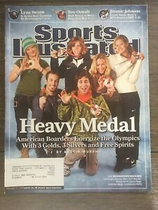 Winter Olympics 2006 Snowboarders Sports Illustrated