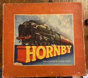 HORNBY - O Guage Clockwork Tank Goods Set No. 40