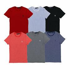 Polo Ralph Lauren Camiseta para mujer Manga corta Cuello Redondo Camiseta Nuevo Nuevo con etiquetas PRL Perfecto