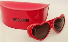 Moschino en forma de corazón Gafas De Sol, Con Estuche Nuevo & Auténtico