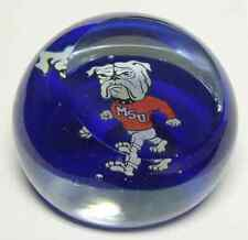 Dynasty Gallery GLASS PAPERWEIGHT Mississippi State