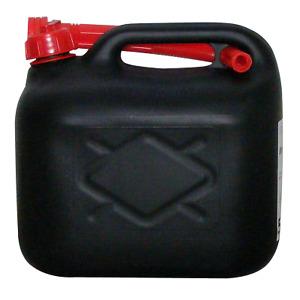 5l Liter Diesel und Benzinkanister Kraftstoffkanister schwarz UN-gepr. #159517
