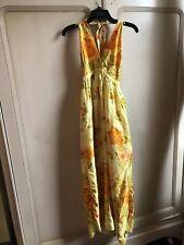 vintage 70s Floral Maxi Dress. Beautiful!