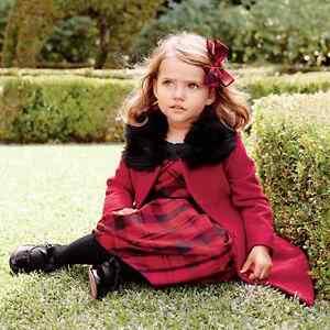 NWT Janie & Jack PRETTY IN PLAID 2T 2 3 4 6 Red Black Silk Duppioni Dress $109