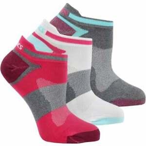 ASICS Quick Lyte Single Tab 3-Pack Womens Running Socks   Low Cut,Socks Comfort
