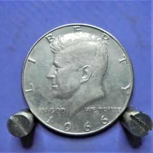 U.S.A. half dollar 1966 - 40%silver 11.5 grams U.K. only.