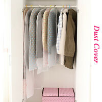 Clothing Organization Hanging Garment Suit Coat Storage Bags Dust Cover NEW