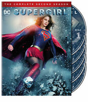 Supergirl: The Complete Second Season (DVD, 2017, 5-Disc Set) new, Free Shippin