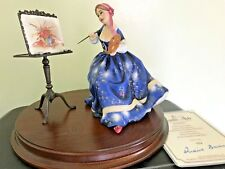 ROYAL DOULTON LIMITED EDITION GENTLE ARTS FIGURINE - PAINTING HN 3012