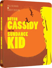 BUTCH CASSIDY AND THE SUNDANCE KID STEELBOOK***BLU-RAY***REGION B***NEW & SEALED